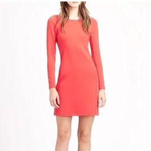 Theory Jersey Dress Salmon Kailon Pryor